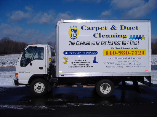 Carpet & Duct Cleaning Truck